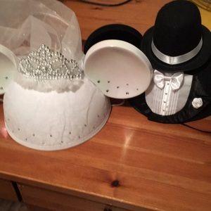 Bride and Groom Mickey Ears